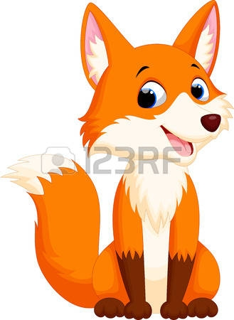 329x450 Clip Art 21 053 Fox Cliparts Stock Vector And Royalty Free Fox