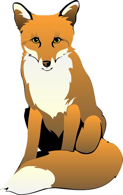 404x640 Cute Fox Clipart Free Clipart Images Logo Art