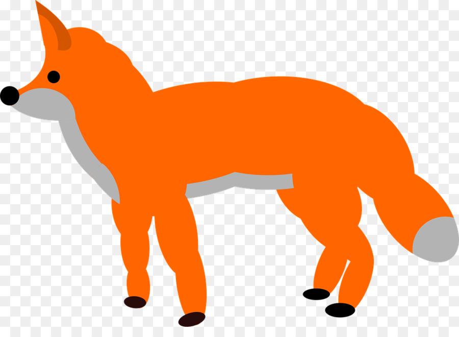 900x660 Arctic Fox The Gingerbread Man Clip Art