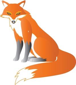268x300 Free Free Fox Clip Art Image 0071 0903 1623 3308 Animal Clipart