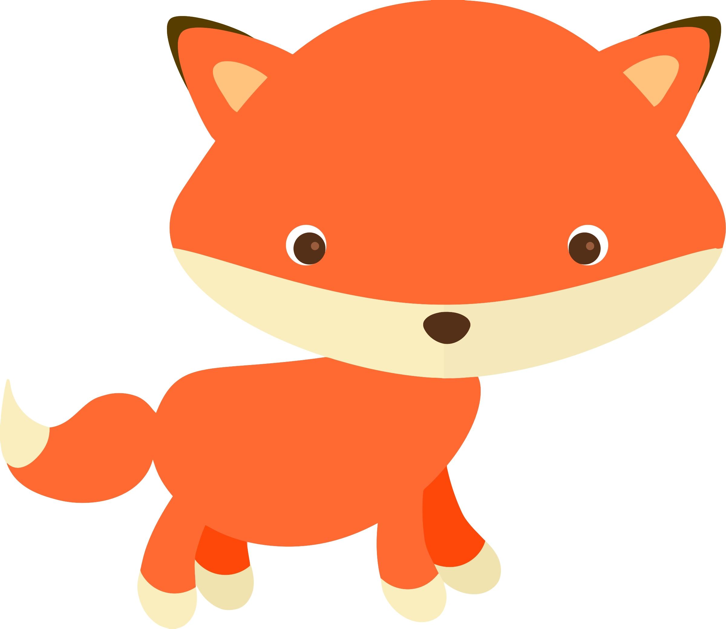 2400x2078 Fresh Cute Fox Clipart Design