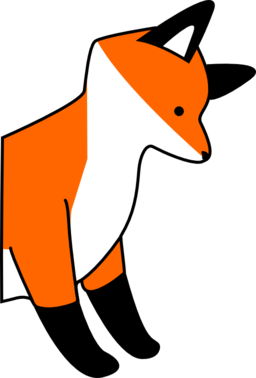 256x378 Off Sale Fox Clip Art Woodland Clipart Animal Clip Art Digital