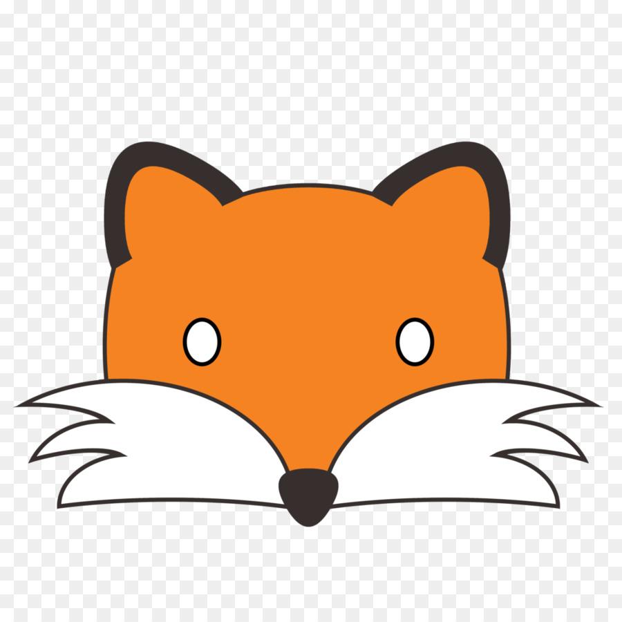 900x900 Red Fox Face Canidae Clip Art