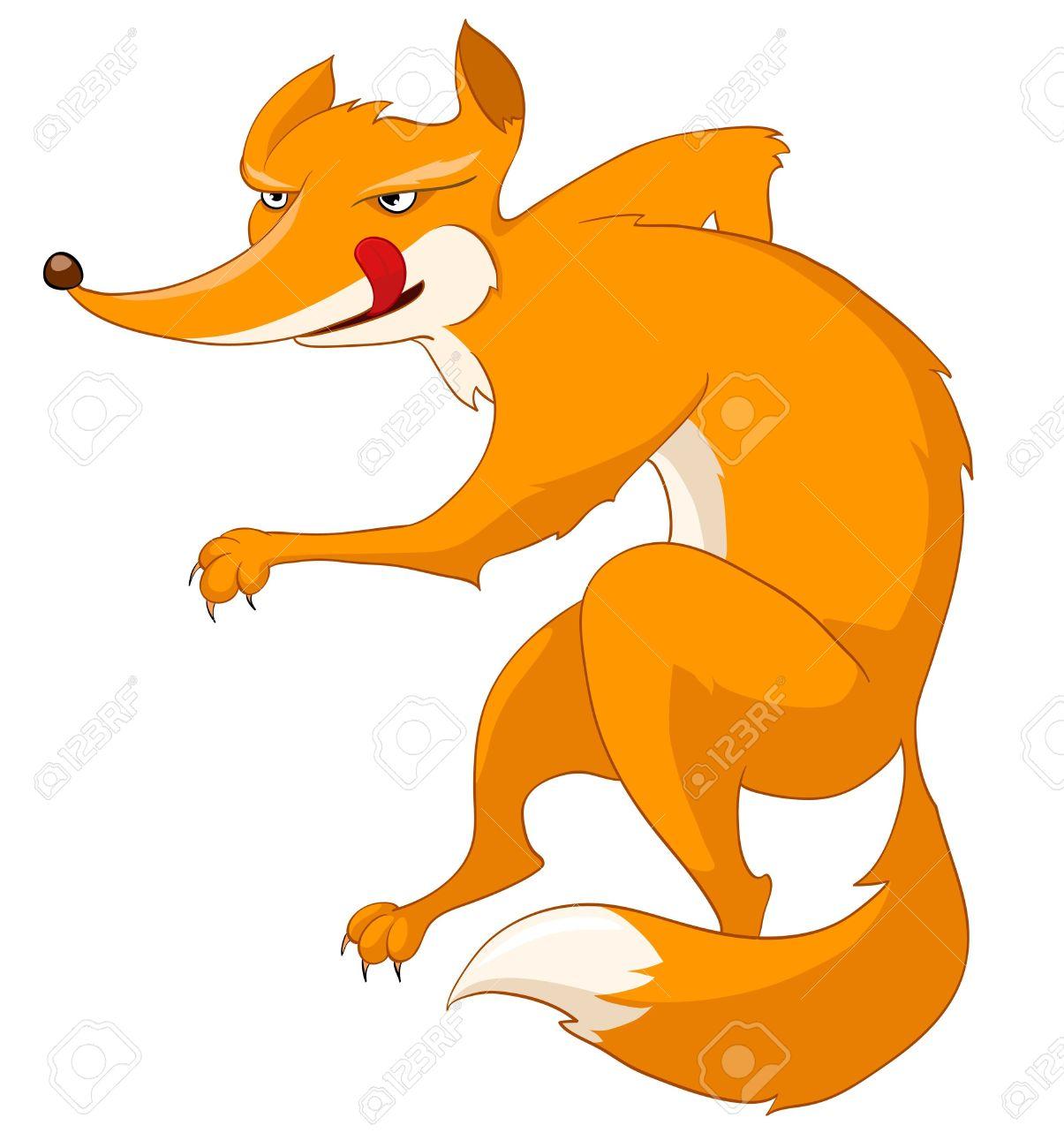 1205x1300 Clip Art Clip Art Of A Fox