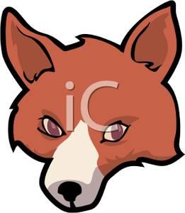 261x300 Red Fox Clipart