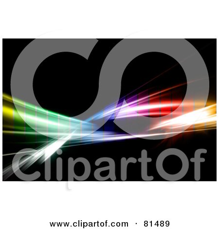 450x470 Royalty Free (Rf) Clipart Illustration Of A Layer Of Colored