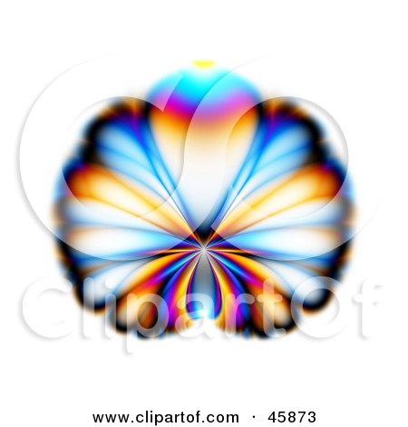 450x470 Royalty Free (Rf) Clipart Illustration Of A Colorful Butterfly
