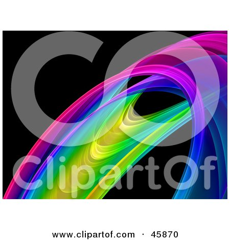 450x470 Royalty Free (Rf) Clipart Illustration Of A Colorful Fractal