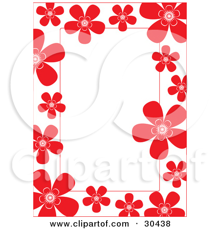 450x470 Pictures Red Flower Borders,