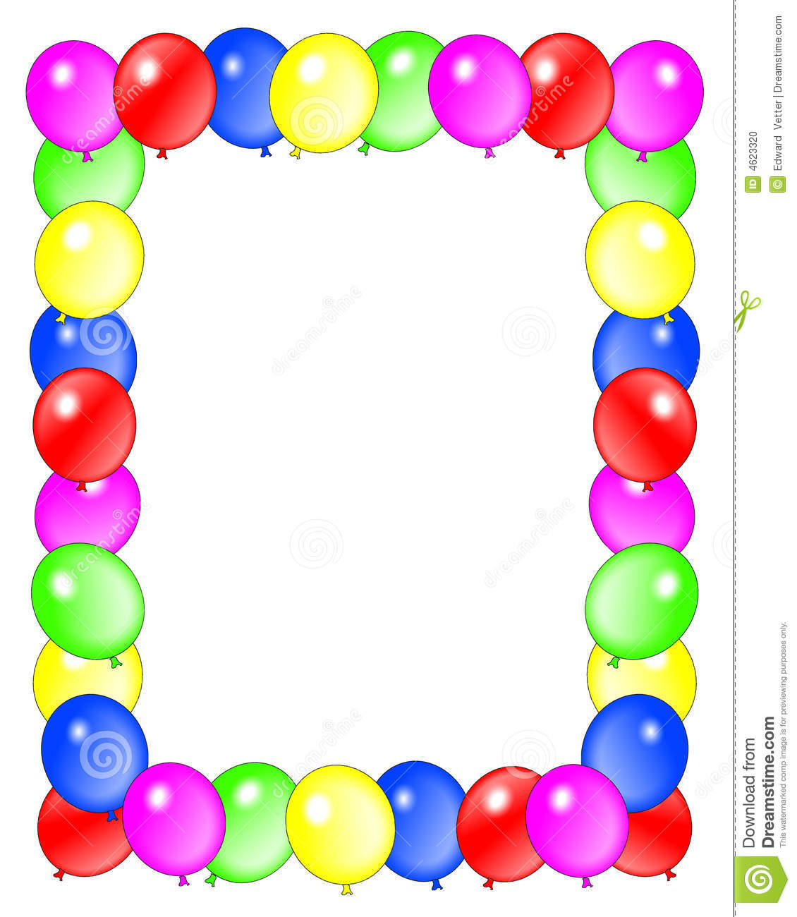 1130x1300 Birthday Frame Clipart Download