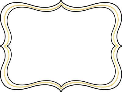 400x303 Border Free Frame Clip Art Teaching Clip Art Free Frames