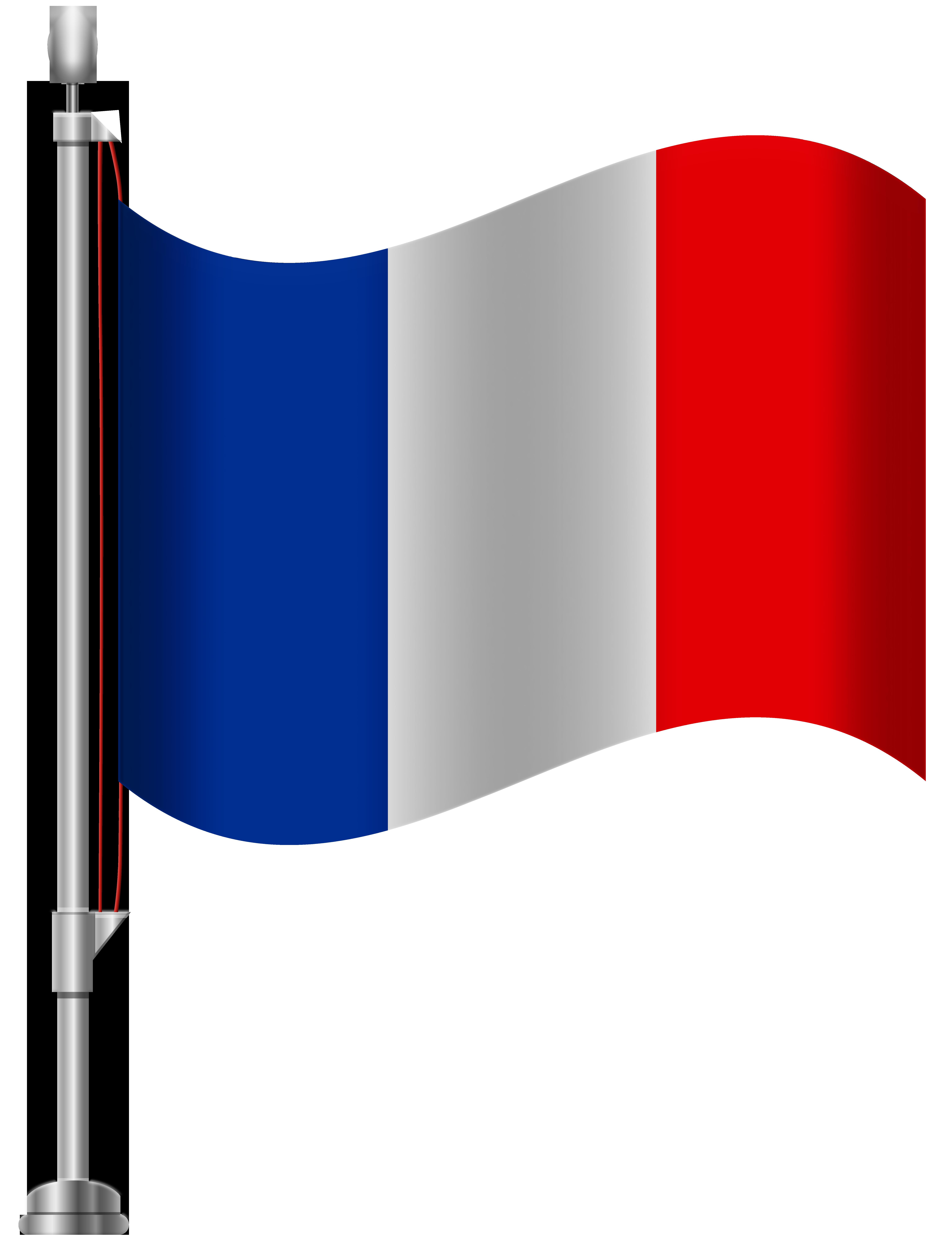 6141x8000 France Flag Png Clip Art