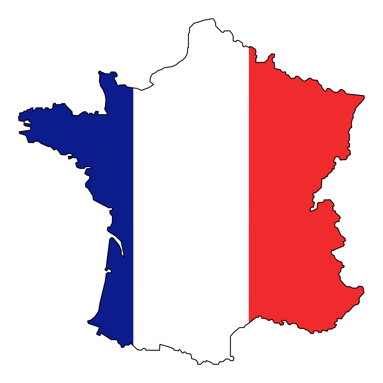 1331x1331 French Flag Clip Art Clipart Panda