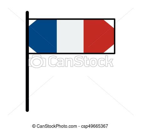 450x413 French Flag Clip Art Vector