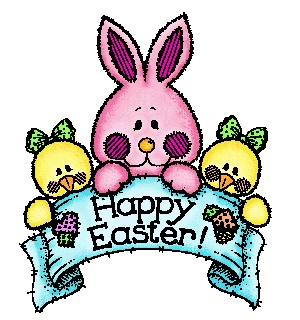 300x320 Animated Easter Clip Art Free Happy Easter 3d