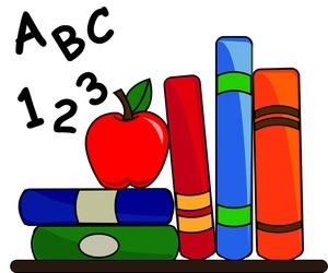 300x250 Alphabet Book Clip Art