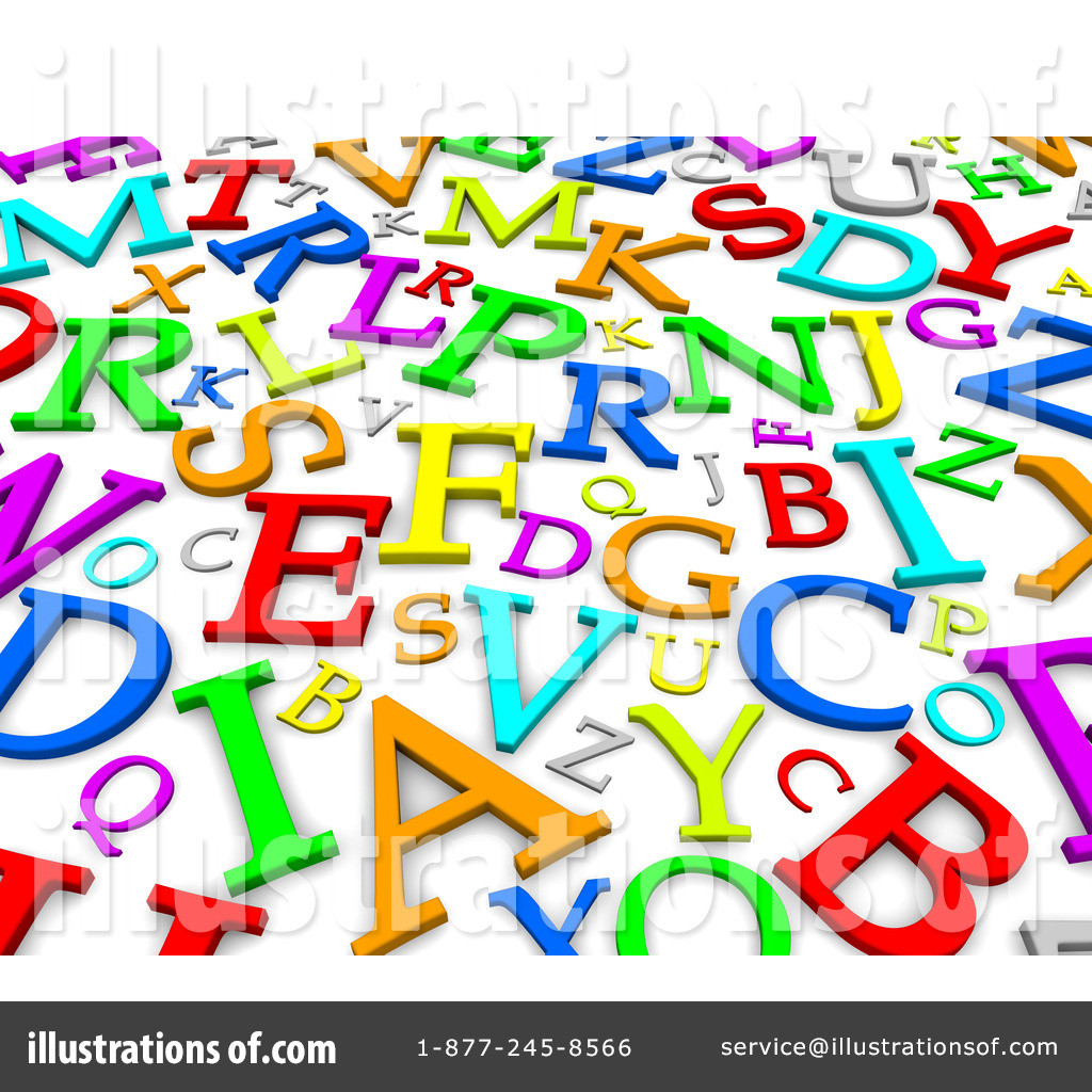 1024x1024 Abc Alphabet Letters Free Clip Art Brilliant Clipart