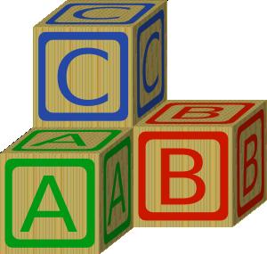 300x285 Abc Blocks Clip Art