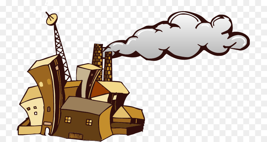 900x480 Factory Chimney Smoke Clip Art