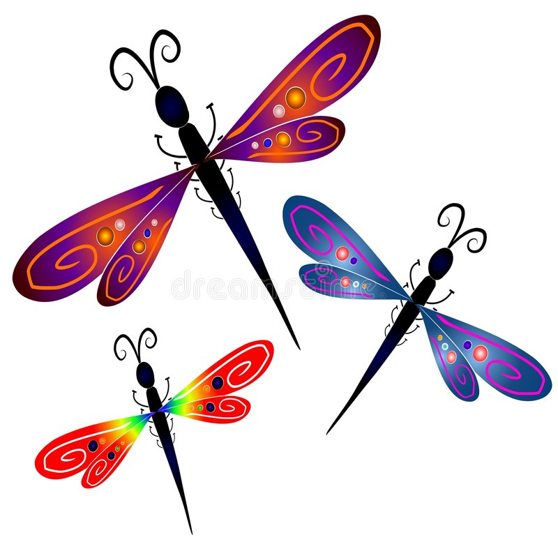 800x800 Free Dragonfly Clipart Abstract Dragonfly Clip Art Stock