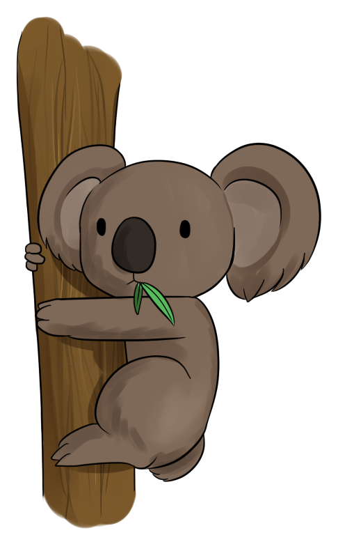 486x768 Best Koala Clipart