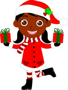 227x300 African American Clip Art For Christmas Fun For Christmas