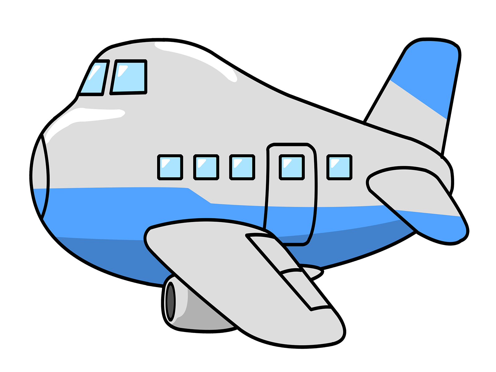 free airplane clipart at getdrawings com free for personal use rh getdrawings com airplane clipart silhouette airplane clipart no background
