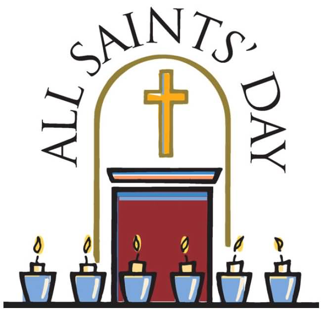 Free All Saints Day Clipart