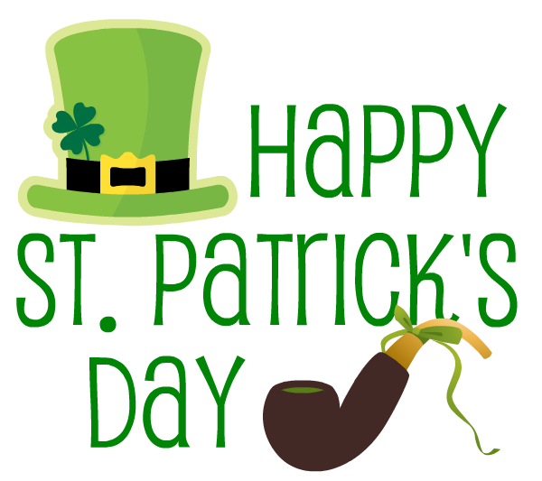 600x533 Free St. Patrick's Day And Irish Clip Art Clip Art, Leaf Clover