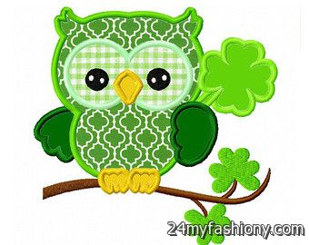 340x270 St. Patrick's Day Owl Clip Art Images 2016 2017 B2b Fashion