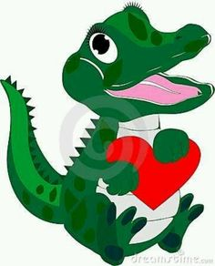 236x292 CLIPART BABY ALLIGATOR FEMALE Art Pinterest Baby alligator