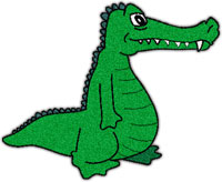 200x164 Free alligator animations alligator clipart