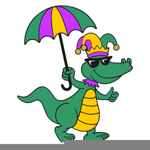 300x300 Mardi Gras Alligator Clipart Free Images