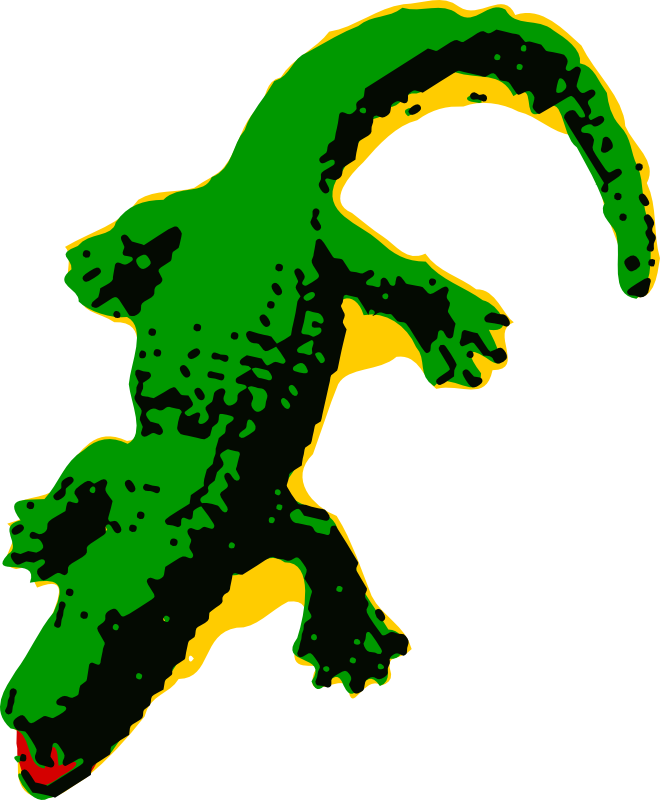 660x800 Alligator Clip Art Free