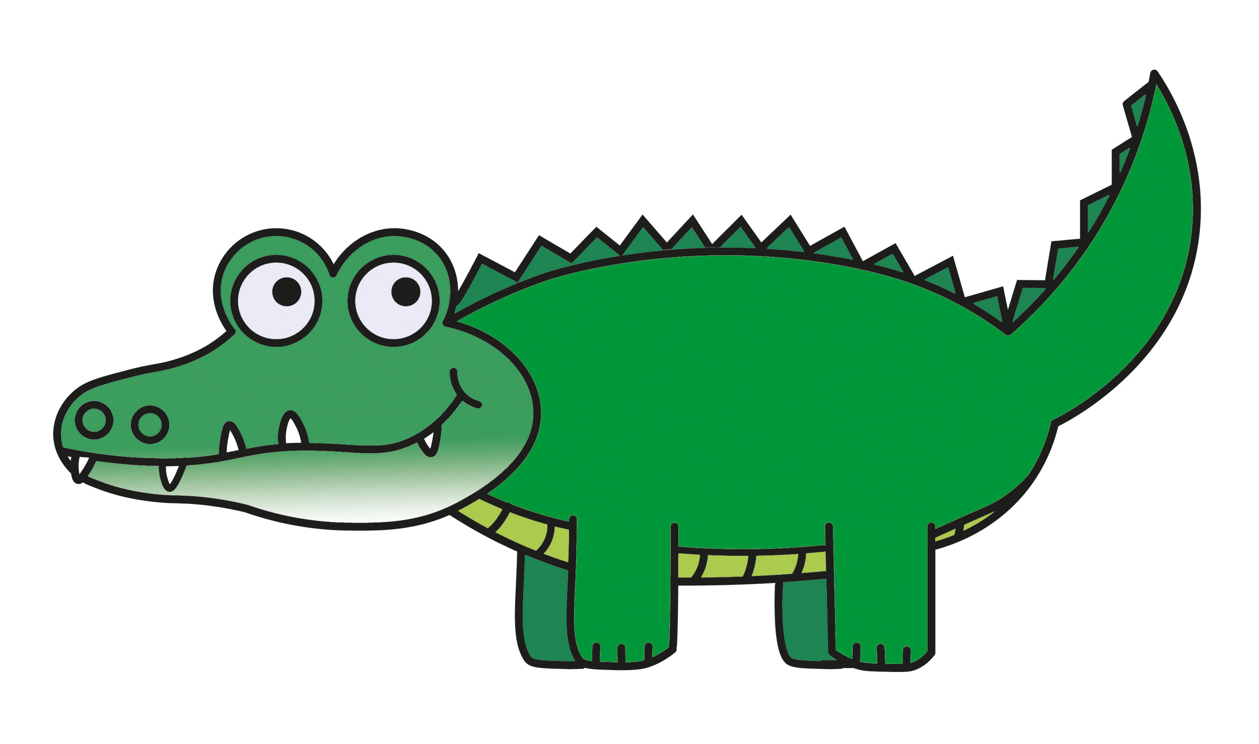 2500x1478 Alligator Clipart Free transitionsfv