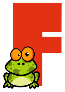 213x300 Free Alphabet Clipart Image 0521 1101 1517 3309 Frog Clipart