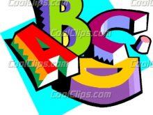 220x165 Letters Clipart Images Public Domain Clip Art Alphabet Letters
