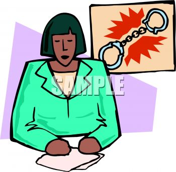350x343 Royalty Free Clip Art Image Black News Anchor Giving A Crime Report