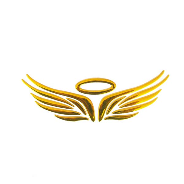 600x600 Angel Wings Material White Feather Png Image Clip Art Gold