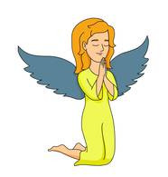 186x195 Free Clip Art Angels Clipart Christian Clipart Text Links