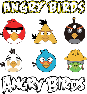 279x300 Angry Birds Logo Vectors Free Download