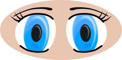 425x209 Anime Eyes Clip Art Vector Clip Art Free Vector Free Download