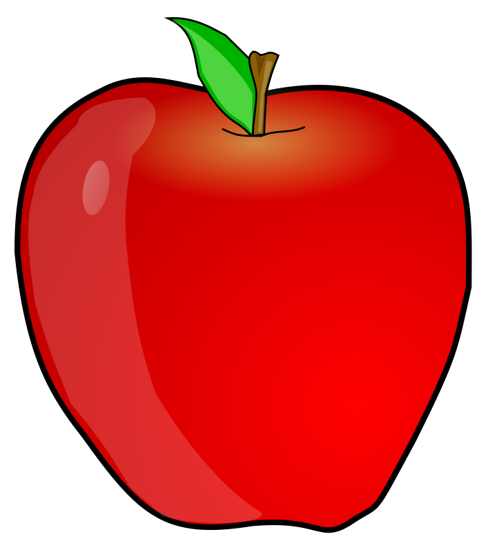 707x800 Free Clipart Another Apple Anonymous