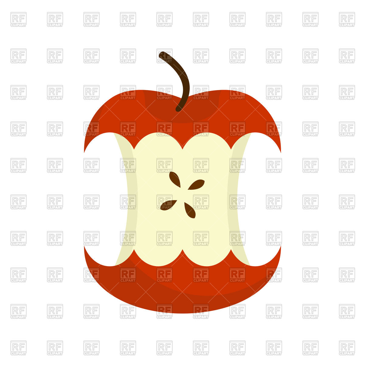 1200x1200 Red Apple Core