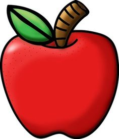 236x275 Apple Clipart. Fruit And Vegetables Clip Art Two