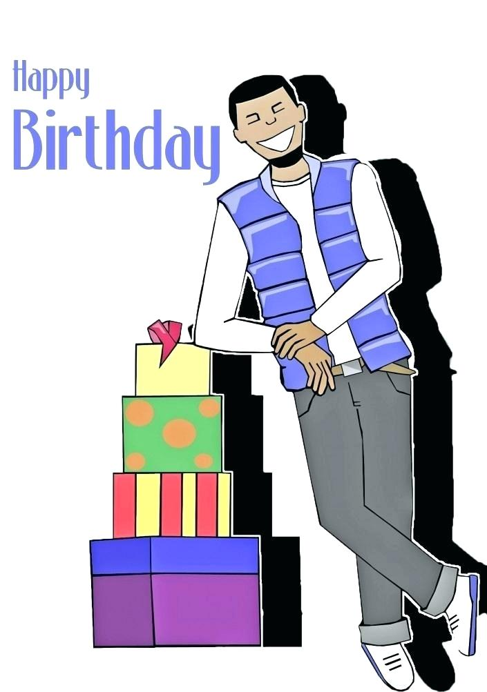 705x1003 Birthday Clip Art For Men Happy Birthday Clip Art 60th Birthday