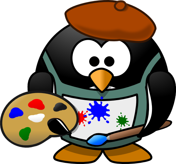 600x560 Artist Clip Art Free Clipart Panda