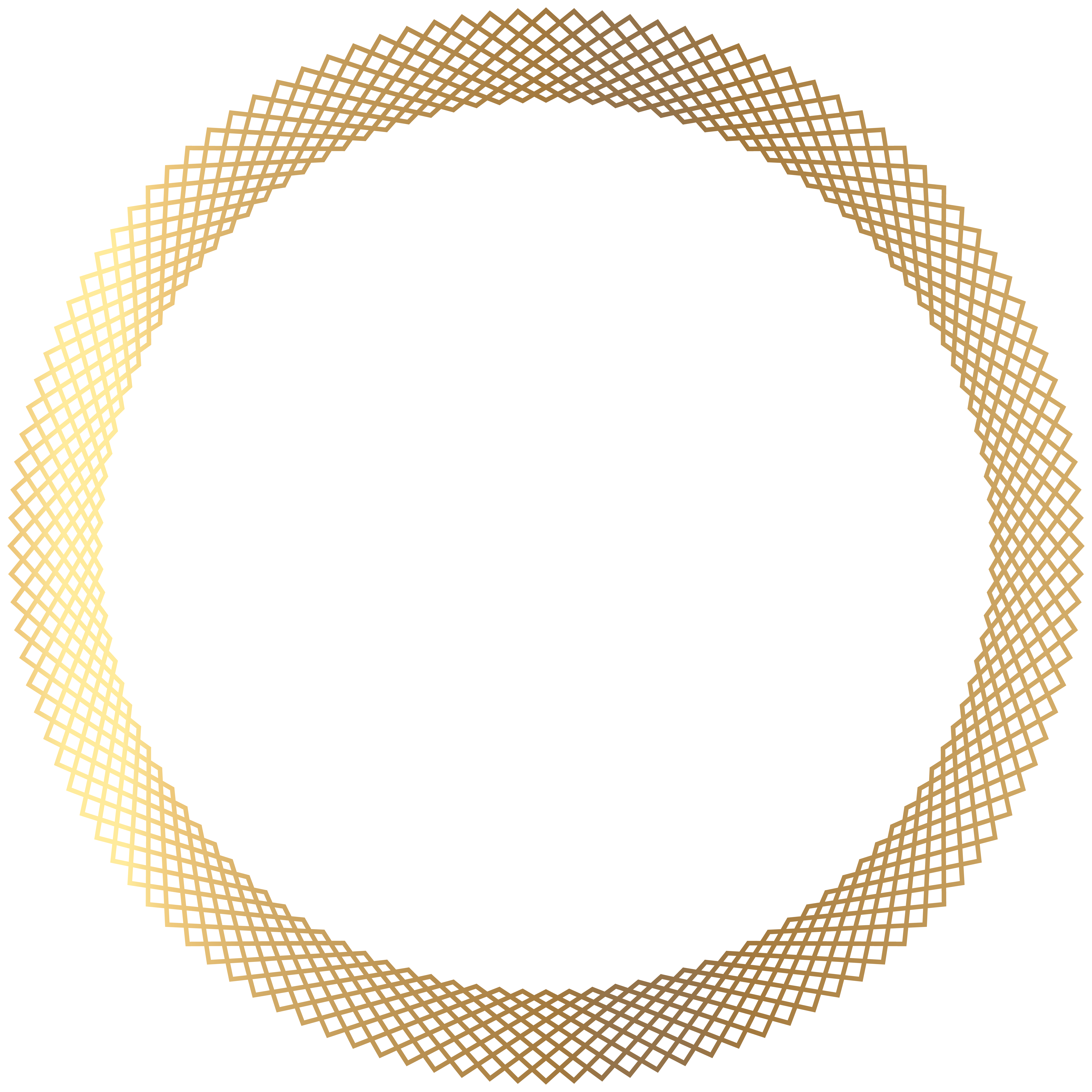 8000x8000 Deco Gold Round Border Png Transparent Clip Artu200b Gallery