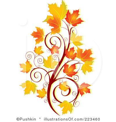 400x420 Fall Flowers Clip Art Royalty Free (Rf) Autumn Clipart