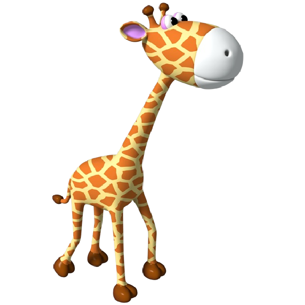 600x600 Baby Giraffe Giraffe Clip Art Free Free Vector For Free Download